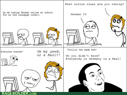 Rage Comics: Are You Anti-Zion Baby?