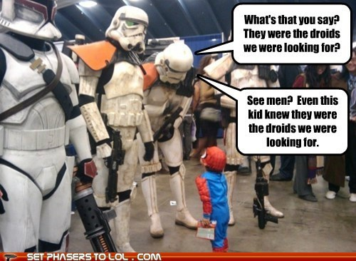 convention,cosplay,droids,kid,star wars,stormtrooper