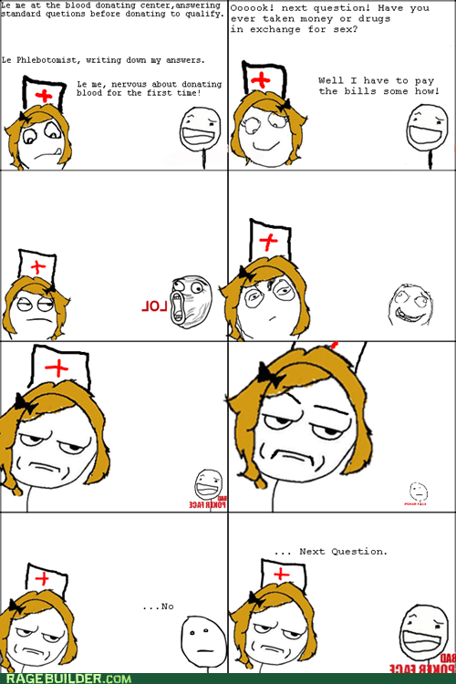 are you kidding me,bad poker face,Blood,Rage Comics