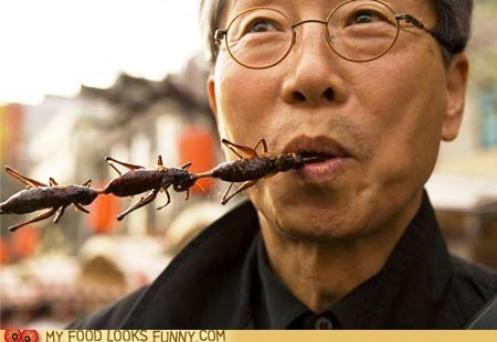 Crunchy Cricket Snack