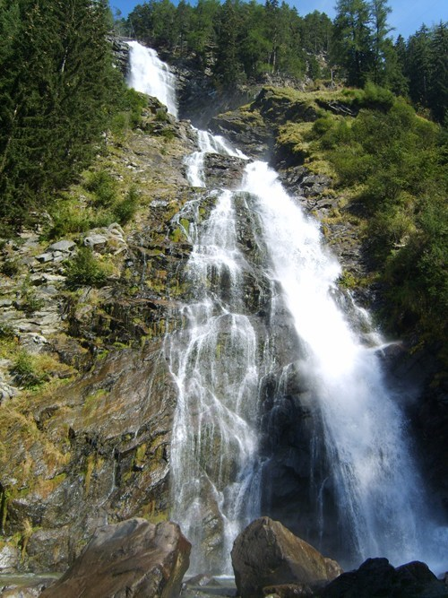 austria,cliff,waterfall
