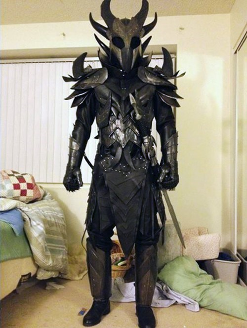 Skyrim Daedric Armor IRL of the Day