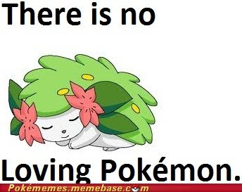 No Shaymin It, Man
