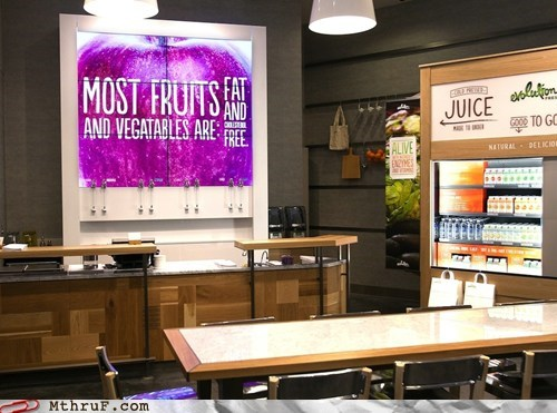 "Monday Thru Friday: Starbucks Opens First Juice Bar, Spells ""Vegetables"" Wrong"