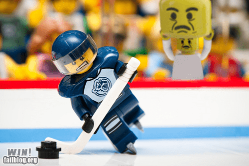 LEGO Stadium Distraction WIN