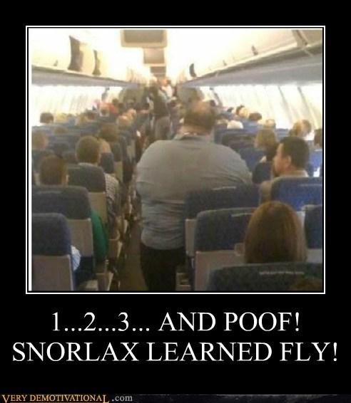1...2...3... AND POOF! SNORLAX LEARNED FLY!