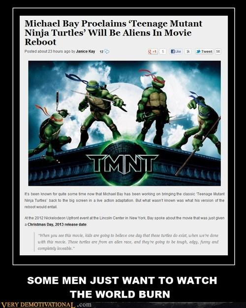 Aliens,Michael Bay,ninja turtle,Terrifying,TMNT,wtf