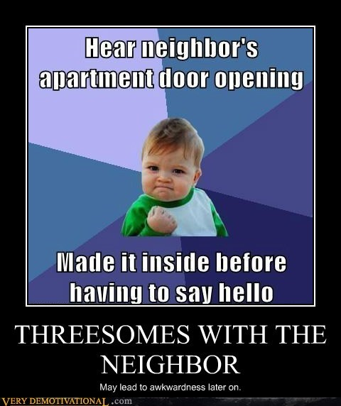 THREESOMES WITH THE NEIGHBOR