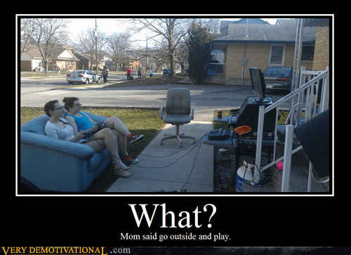 couch,grill,outside,Pure Awesome,video games