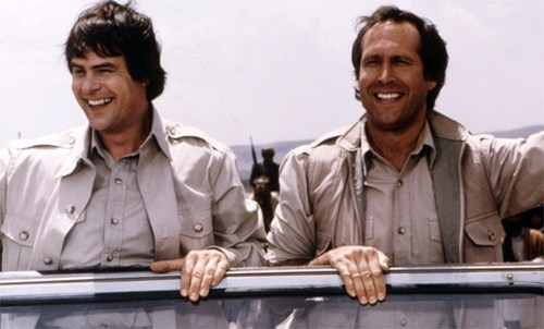 Dan Akroyd And Chevy Chase Team Up of the Day