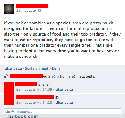 Failbook: You Just Ruined The Walking Dead For Me