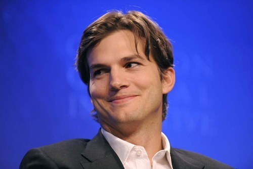 Ashton Kutcher Space Trip of the Day