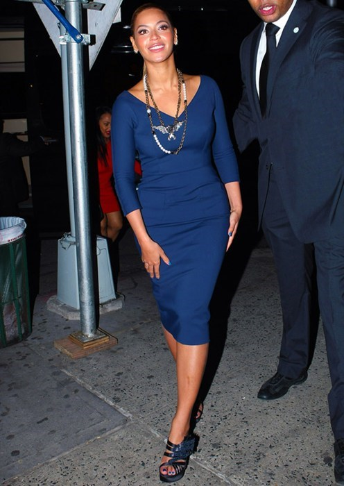 Beyoncé In Blue of the Day