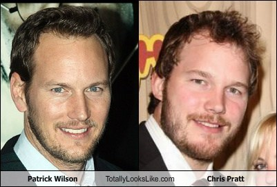 Photographic Evidence That Chris Pratt and Patrick Wilson Are the Same Person