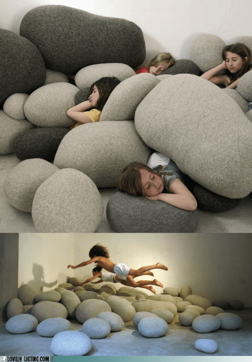 cusions,decor,Pillow,rocks,wool
