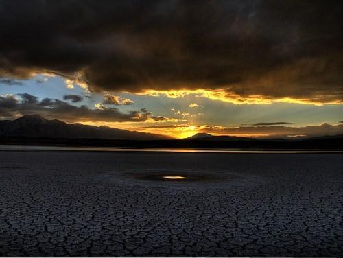 california,lake,sunset