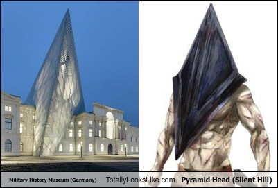 Military History Museum (Germany) Totally Looks Like Pyramid Head (Silent Hill)
