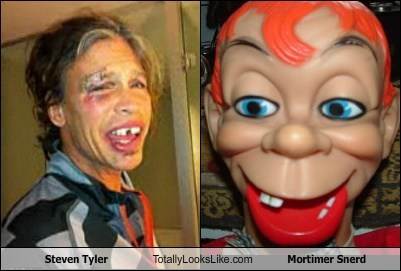 Steven Tyler Totally Looks Like Mortimer Snerd