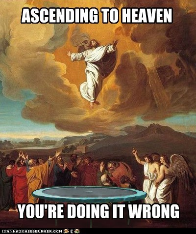 Just a Little Higher, Jesus!