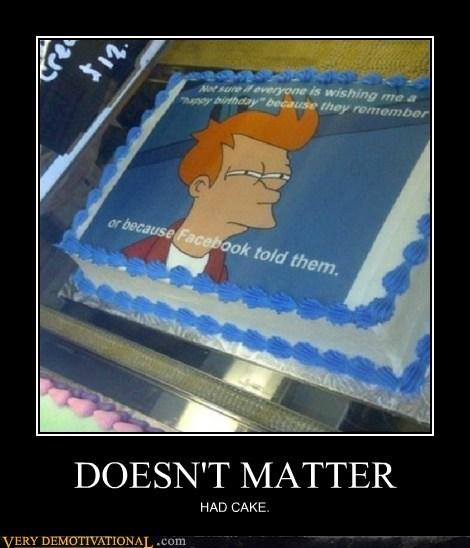 birthday,cake,facebook,fry,hilarious