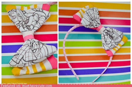 Ice Cream Treats Hair Bows