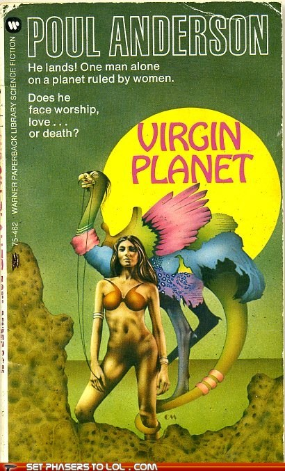 WTF Sci-Fi Book Covers: Virgin Planet
