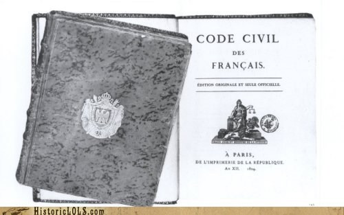 This Day in History: Napoleonic Code Approved in France