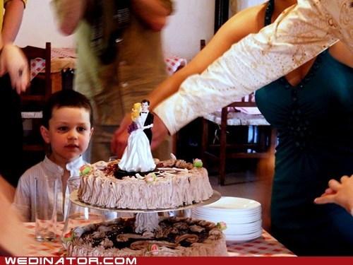 cake,children,funny wedding photos,kids,wedding cake
