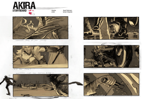 Akira Storyboards of the Day