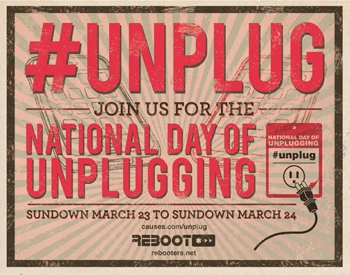 National Day of Unplugging of the Day
