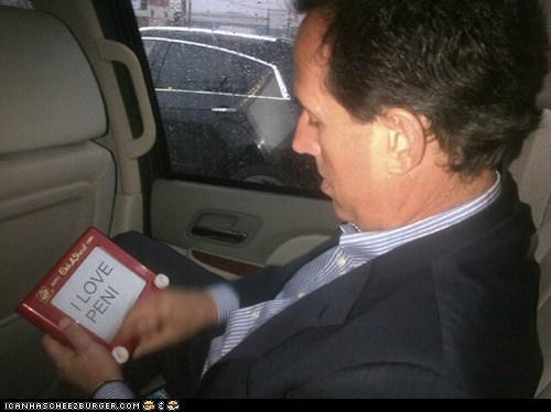 Etch A Sketch,political pictures,Rick Santorum