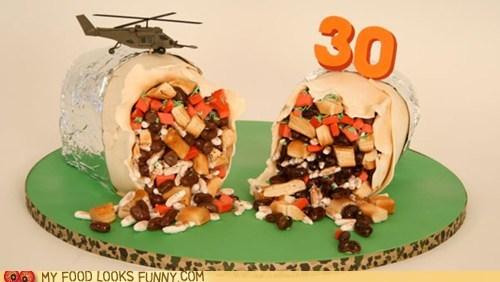burrito,cake,fooled,gross
