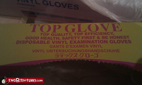 engrish,gloves,Japan,japanese,sign,vinyl