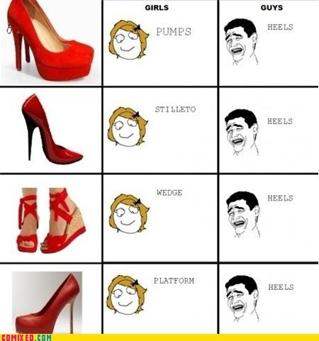 It's All Heels to Me