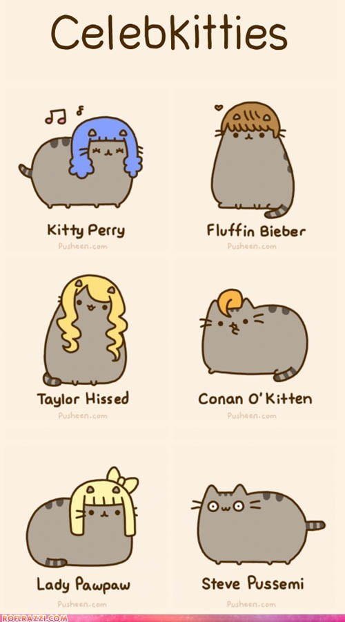 ROFLrazzi: Celebrity Kitties