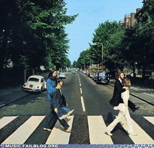 abbey road,piggy back,the Beatles