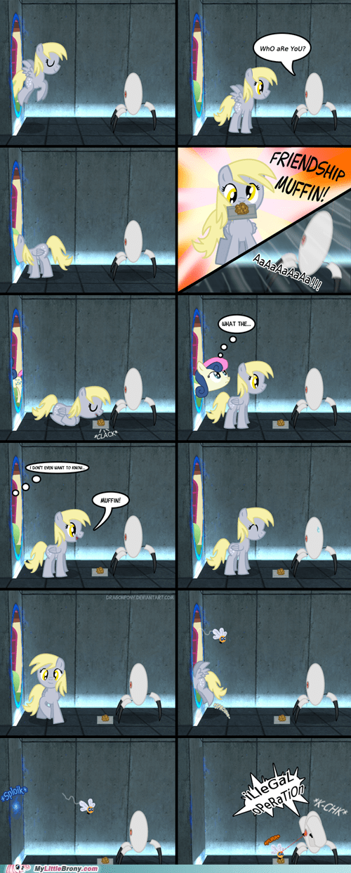 Derpy Is Thinking With Portals