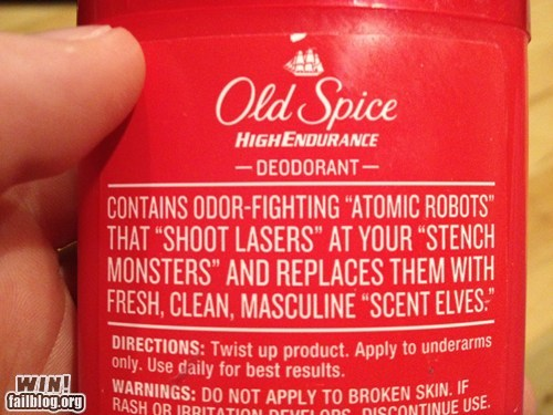 Old Spice WIN