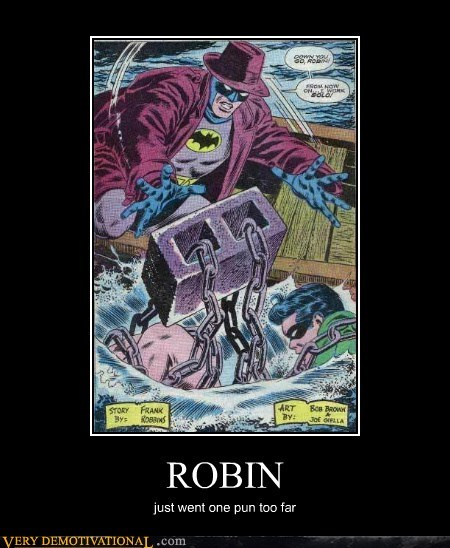 Damn You Robin
