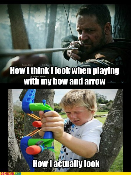 arrow in the knee,bow and arrow,the internets,toys