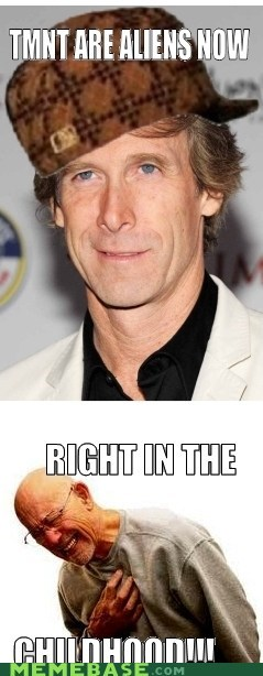 Scumbag Michael Bay