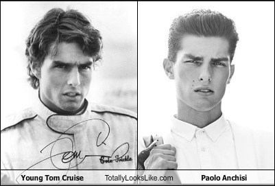 Young Tom Cruise Totally Looks Like Paolo Anchisi