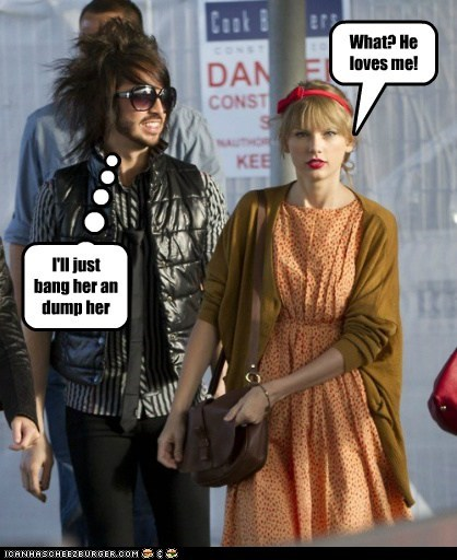 Taylor swift will never learn