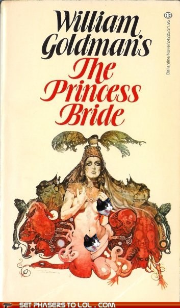 WTF Fantasy Book Covers: The Princess Bride