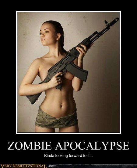 apocalypse,Pure Awesome,Sexy Ladies,zombie