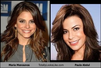 Maria Menounos Totally Looks Like Paula Abdul