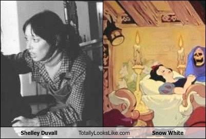 Shelley Duvall Totally Looks Like Snow White