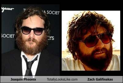 Joaquin Phoenix Totally Looks Like Zach Galifianakas