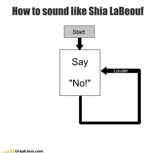 acting,flow chart,no,shia labeouf,transformers