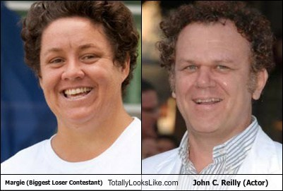 actor,biggest loser,funny,john c reilly,margie,TLL,TV